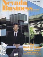 Nevada Business Magazine October 1986 View Issue