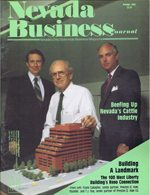 Nevada Business Magazine October 1987 View Issue