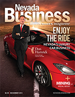 View the December 2014 issue of Nevada Business Magazine.
