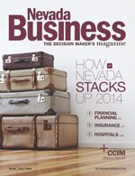 Nevada Business Magazine July 2014 View Issue