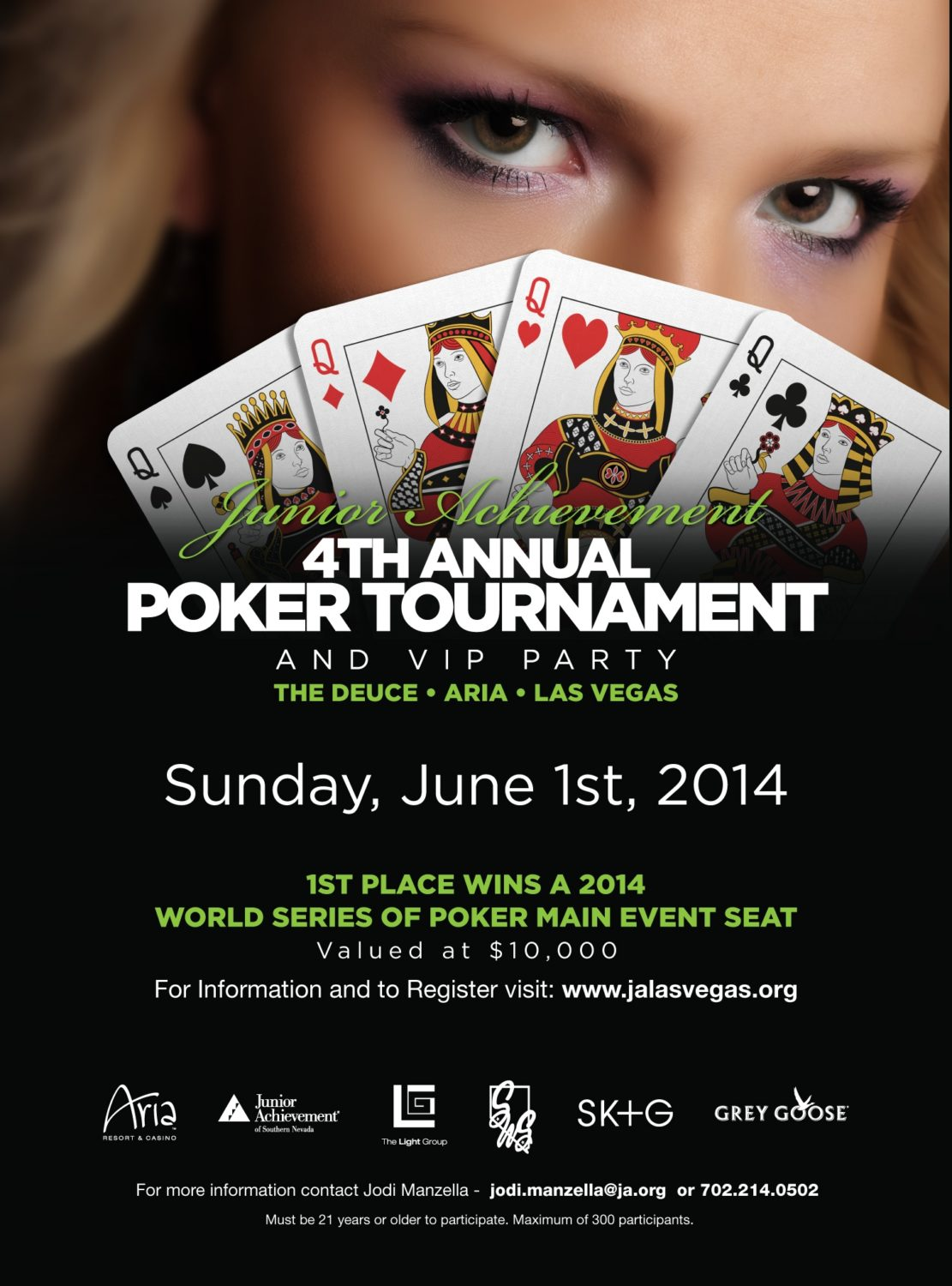 up the ante at junior achievement 39 s fourth annual poker tournament nevada business magazine. Black Bedroom Furniture Sets. Home Design Ideas