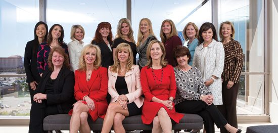 A group of Nevada's power women recently met at the offices of Gordon Silver to discuss the trends and obstacles facing their industry.