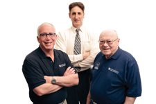 David Steinberg, Mark Winkler and Leon Steinberg Steinberg Diagnostic Medical Imaging Center