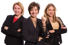 Cynthia Glickman, Robyn Yates and Di Redman Windermere Real Estate