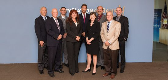 Nevada banking executives recently met at the Las Vegas offices of City National Bank to discuss the challenges in their industry.