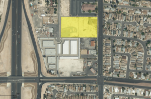 Colliers International announced the finalization of a sale to a vacant land property located at 4491 N. Rainbow Blvd.