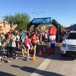 """More than $196,000 was raised for kids with cancer by more than 2,000 """"superheroes"""" at the annual Candlelighters Shine for a Superhero 5K and 1 Mile Race."""