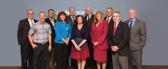 Nevada Industry Leaders recently met at the Las Vegas offices of City National Bank to discuss the needs of education.