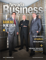 View the February 2015 issue of Nevada Business Magazine!