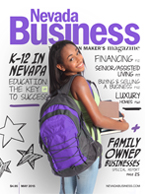 View the May 2015 issue of Nevada Business Magazine!