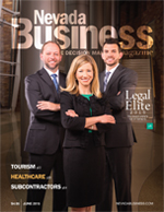 View the June 2015 issue of Nevada Business Magazine!