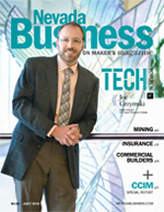 View the July 2015 issue of Nevada Business Magazine.