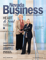 View the August 2015 issue of Nevada Business Magazine