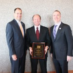 Henderson Chamber Awards Davis with Spirit of Henderson Award