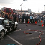 """Park Place Infiniti participated in the annual """"You Drink, You Drive, You Lose"""" event held by University Medical Center in front of its Trauma Center."""