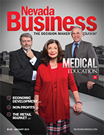 View the January 2015 issue of Nevada Business Magazine.