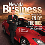 Nevada's luxury car business dipped during the recession but rebounded fairly quickly, coming back strong.