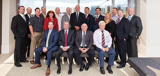 Executives representing the industry met at the Las Vegas offices of Gordon Silver to discuss the challenges of commercial real estate in Nevada.