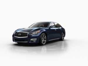 With its sharp edge in performance and distinctive flair in design, the new 2015 Infiniti Q70L, lives up to the brand's exceptional luxury and style.