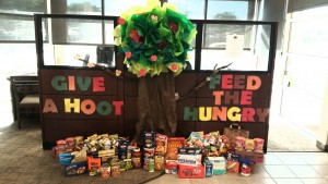 Just in time for the holidays, Nevada State Bank donated more than 5,000 non-perishable food items, or 11.5 barrels, to the Las Vegas Rescue Mission