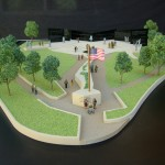 The Las Vegas Veterans Memorial Foundation announced the groundbreaking for the memorial being developed in Downtown Las Vegas is scheduled for November.