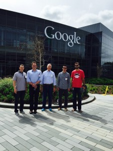 Members of senior leadership at Google met with the leadership team from Dickson Realty Inc. to discuss how to incorporate innovation into real estate.