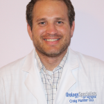 Craig Hunter has joined Urology Specialists of Nevada, where he will practice in all aspects of urology.