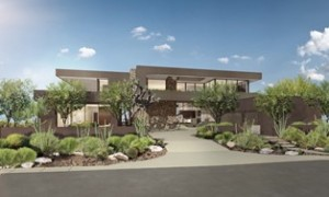 Southern California architectural firm Marmol Radziner has completed its design for ASCAYA's first showcase home.