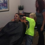 """Centennial Toyota Hosts Head-Shaving  Event in Honor of Children Battling Cancer: Third Annual """"Shave Off"""" benefits Candlelighters Childhood  Cancer Foundation of Nevada"""