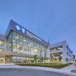 A new office building developed by The Molasky Group for Blue Cross and Blue Shield of Georgia opens today in the Muscogee Technology Park in Columbus.