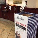 First Independent Bank is helping the Hot August Nights Foundation, collect warm coats for families during its annual coat drive.