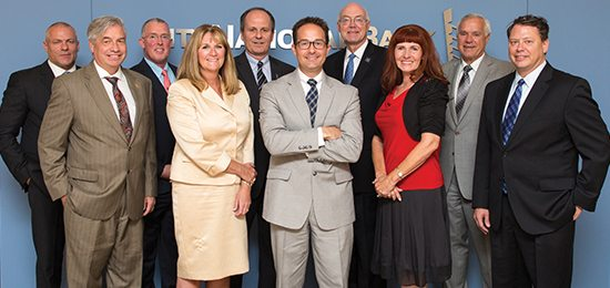 Paul Green, University of Phoenix; Bart Patterson, Nevada State College; Seth Ahlborn, Henderson International; Renee Coffman, Roseman University; Paul Stowell, City National Bank; Spencer Stewart, Western Governors University; Marc Johnson, University of Nevada, Reno; Connie Brennan, Nevada Business Magazine; Dan Klaich, Nevada System of Higher Education; Pat Skorkowsky, Clark County School District