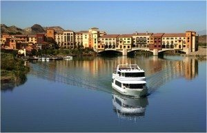 Santa Claus will be enjoying a vacation at the Lake Las Vegas residential, golf and resort destination.