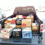Golden Casino Group recently donated more than 1,000 cans of food to local families, as part of the 10th Annual KNYE-FM Food Drive.