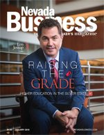 View the January 2016 issue of Nevada Business Magazine!