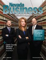 View the June 2016 issue of Nevada Business Magazine.