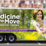 "Health Plan of Nevada and Southwest Medical are launching ""Medicine on the Move,"" a portable office that brings health care to people's homes."