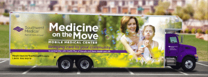 """Health Plan of Nevada and Southwest Medical are launching """"Medicine on the Move,"""" a portable office that brings health care to people's homes."""