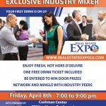 Real Estate Expo Las Vegas will host an exclusive industry mixer with a spotlight on Zillow Group, the mixer's featured company and gold sponsor.
