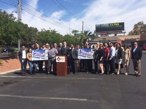 Lamar Advertising Company has joined Nevada Partnership for Homeless Youth (NPHY) in combatting the community's growing homeless youth problem.