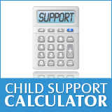 Trying to calculate child support can bring back horrific memories of algebra class.