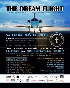 """The Dream Flight,"" a fundraiser created by local influencers launches May 14, offering a chance for lucky winners to win a foodie flight on a private jet."