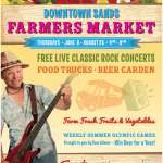 Shirley's Farmers Markets and the Sands Regency are back in 2016 as hosts for the Downtown Farmers Market at the Sands.