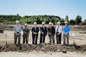 Dermody Properties recently broke ground on a 225,972-square-foot industrial facility, known as LogistiCenter(SM) at 167, at 7450 26th St. E. Fife, Wash.