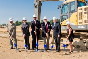 Dermody Properties, a national industrial acquisition,and Great Point Investors LLC broke ground on a new distribution facility at LogistiCenter.
