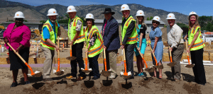 NRHA in conjunction with several other partners broke ground on the Richards Crossing housing facility in Carson City to benefit homeless veterans.