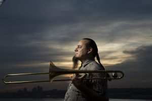"""Mevans Live presents – Steve Turre with the Michael Evans Big Band featuring Sandy Wyatt of """"Hitzville the Show"""""""