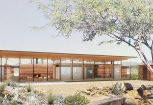 ASCAYA has started construction on its third of seven Inspiration Homes in the Henderson hillside community.