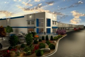 Dermody Properties recently started construction on a 550,000-square-foot industrial facility on Las Vegas Boulevard.