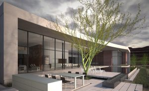 Continuing its commitment to bring the finest Desert Contemporary architects in the country to ASCAYA, the luxury hilltop community has started construction